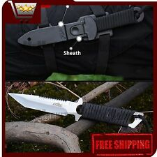 Straight Blade Knife CIMA A19 - Diving straight knife Silver - Authentic CIMA