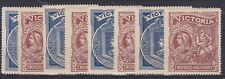 V70) Victoria 1897 Charity pair, SG 353/4, Fresh Mint Unhinged