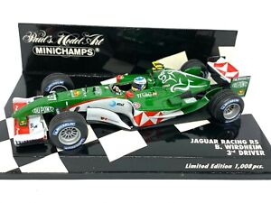 Ltd Edition 1:43 scale Minichamps Jaguar Racing R5 F1 Car - B Wirdheim 2004 Car