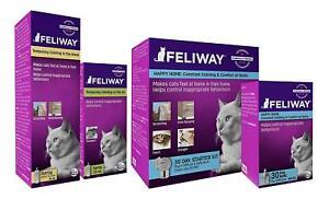 Feliway Classic Cat Diffusers, Refills & Sprays Feline Pheromone Stress Relief