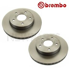 For Jeep Grand Cherokee Pair Set of 2 Front 305mm Coated Vent Disc Brake Rotors