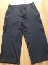 Ladies Black Genuine Nike Sports Gym Exercise Stretch Pants, Size 10