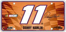#11 Denny Hamlin Signature Series Souvenir License Plate SS1112BK
