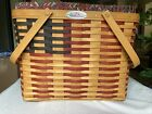 Longaberger 1998 Collectors Club 25th Anniversary Flag Basket Liner & Protector