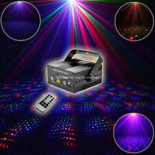 Mini 2 Len RGB Laser Full Stars Patterns Projector Bar DJ Disco Xmas Party Light