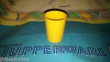 VINTAGE TUPPERWARE YELLOW REPLACEMENT MINI 2 OZ. WEIGHTED TUMBLER CUP TOY 1503