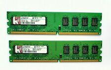 4GB (2 x 2GB) Kingston DDR2 2RX8 PC2-6400U 800MHz 240PIN DIMM RAM Desktop memory