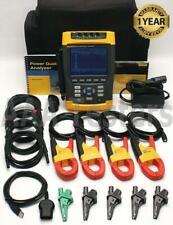 Fluke 434 Three Phase Power Quality Analyzer Meter w/ Interharmonics Memory