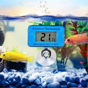 Waterproof LCD Digital Fish Tank Aquarium Thermometer Water Temperature Meter AU