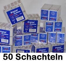 50x Streichholzschachtel Riesa Zündhölzer - 1900 Stück Streichhölzer Notvorrat