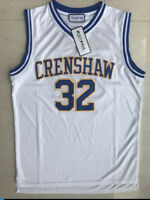 Monica Wright #32 Basketball Movie Jersey Crenshaw Love and Basketball Stitched