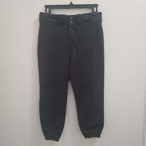 Wilson Youth Baseball Pants Knickers Size Large Black