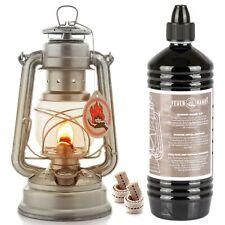 Feuerhand 276 Petroleumlampe Sturmlaterne Lampe Laterne + 1L Öl + 2x Ersatzdocht