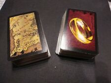 Lord of the Rings Risk Trilogy Edition LOT 126 CARDS