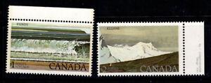 Kanada 1979 Mi. 715,726 Postfrisch 100% Landschaft, Natur, Nationalpark
