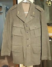 Wwii Wool 4 Pocket 1940 Swedish Military Coat Vintage Jacket Artillery Original