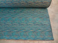 "Aqua Abstract Print By the Yard 60""  by Soieries Chambutaires Fabric from Disney"