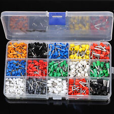 1000Pcs Electric Wire Cable Wiring Crimp Terminals Connector Terminal Box Set