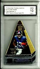 2014 Crown Royale Panini's Choice # PC7 Odell Beckham Jr. Graded Gem Mint 10 NYG