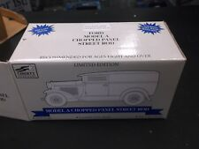 SpecCast 1:25 Ford Model A Chopped Coupe Street Rod Eastwood Waycool #5 In Blue
