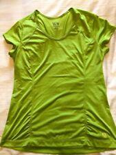 Mountain Hardwear womens t-shirt size L yellow