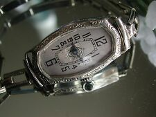 1920's Ladies Art Deco Sorority  Watch ~  Filigree Linked Bracelet Band ~ Runs