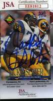 Jackie Slater 1994 Classic Jsa Coa Hand Signed Authentic Autograph