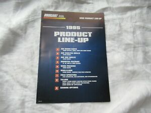 1995 Bourgault tillage full line product line-up brochure catalog