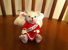 1997 Claire's Boutique Valentine's Day Cupid bear ornament Teddy Christmas RARE