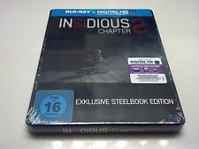 Insidious Chapter 2 STEELBOOK (Blu-ray, Germany) Muller Exclusive *SEALED* RARE!