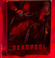 Deadpool STEELBOOK Lenticular Magnet (BLU-RAY) Region Free Ships 24 Hours