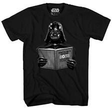Star Wars Darth Vader Dark Side Empire Humor Pun Adult Men's Graphic Tee T-shirt