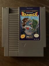 Rampage Nintendo NES Cartridge Good Condition—Cleaned, Tested, And Working