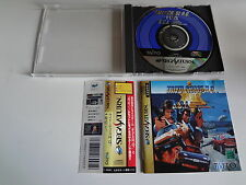 Taito Chase HQ plus SCI. w/spine Sega Saturn Japan