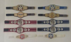 10 Custom Wrestling Figure Belts WWE WWF NXT FROM 2020 (FIGS NOT INCLUDED)