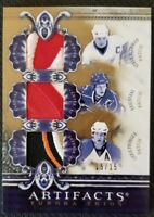 2010-11 UD ARTIFACTS TUNDRA TRIOS STEVE YZERMAN STAAL PRONGER PATCH #ed 15/15