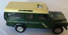SOLIDO LAND ROVER DEFENDER110 COUNTY GREEN AND OFF WHITE  SCALE 1-43 NO BOX
