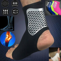 ELASTIC ANKLE BRACE SUPPORT PAD GUARD ACHILLES TENDON STRAP FOOT PROTECTOR NEW