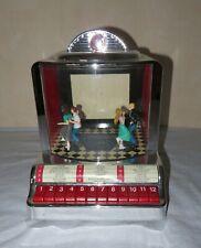 Juke-Box im Stil der 50er Jahre von Mr. Christmas mit ROCK'N'ROLL Tänzer