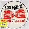 """Sex Pistols - Pretty Vacant 7"""" PICTURE DISC 35th Anniversary Press Sid Vicious"""