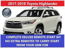 remote car starters for toyota highlander ebay