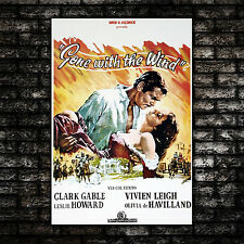 Movie Poster 70X100 CM - Gone With The Wind - Via Col Vento