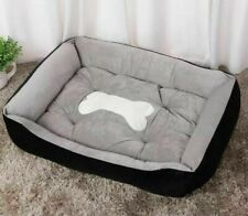 Dogs Soft Sleeping Bed Washable Comfy Cushion Mat Pet Cat Washable Fur Sofa Beds