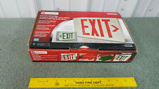 Utilitech Led Exit Sign Redgreen Letters 7097 Battery Back Up New With Box