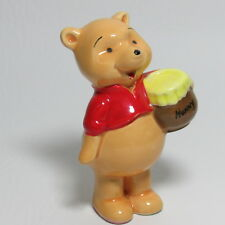 Vintage Winnie the Pooh Figurine with Hunny Porcelain Signed Disney Japan (1Zpf)