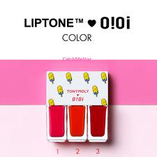 [Tony Moly] oioi Edition Liptone Get It Tint Mini Trio 4g/0.14oz*3ea_1 Kit