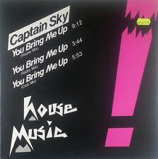 Capitano SKY You Bring Me Up 12 pollici Maxi RAR k118 Slavati-cleaned