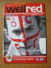19/05/2004 Play-Off Semi-Final Division 2: Bristol City v Hartlepool United  (No