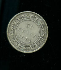 1882  Newfoundland 50 Cents Fine DCB762