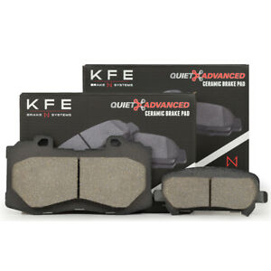 FRONT REAR Ceramic Disc Brake Pad For Chevrolet Colorado GMC Canyon KFE1802-1806